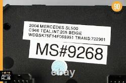 03-08 Mercedes SL500 SL55 AMG Convertible Top Roof ABC Mirror Control Switch 48k