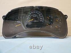06 07 Silverado Suburban Yukon Tahoe Speedometer Cluster 294K OEM 15105687