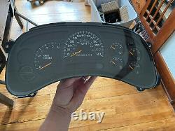 06 07 Silverado Suburban Yukon Tahoe Speedometer Cluster TMU OEM #15105687