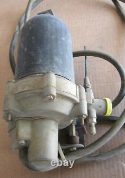 1975 Cadillac Deville Air Ride Level Control Compressor Pump Tank Orig 74 75 76