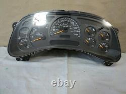 2005 Silverado Suburban Yukon Avalanche Speedometer Cluster 409K OEM 15224142