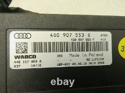 2013-2018 Audi S6 4.0l Air Suspension Level Computer Control Module Wabco Oem