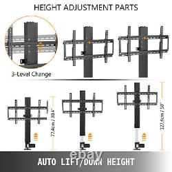 20 Motorized TV Lift Bracket With Remote Controller For 28-32 TVs 500mm
