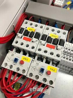230v twin submersible pump control panel, with high level alarm output 1.5kW max