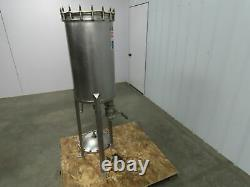 26 Gallon Stainless Tank WithTri-Clover 30-125-01-316 Level Control Type Float