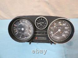 67-76 Mercedes w108 w109 w114 w115 Speedometer Cluster 160 MPH 61k OEM VDO
