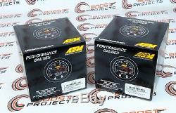 AEM 2 Gauges Combo Set X Series Boost Control & Display + UEGO 4.9LSU WideBand