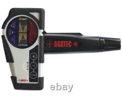 Agatec RCR500 Rotary Laser Level Detector & Clamp withIntegrated Remote Control