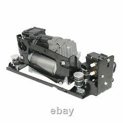 Air Compressor Pump+2Air Spring bags For 5 F11 518d 520d 525d 535d 530d xDrive
