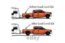 Air Helper Kit Black Gauge On Board Control 2018-19 Chevy 8 Lug Truck 2500 3500