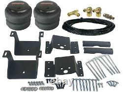 Air Helper Kit with On Board Controls Fits 4 Lifted 2011-17 Chevy 8 Lug Truck