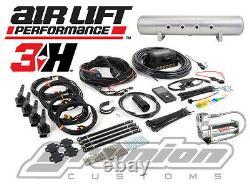 Air Lift 3H Digital Air Bag Suspension Control Kit 1/4 FREE Billet Arms Upgrade