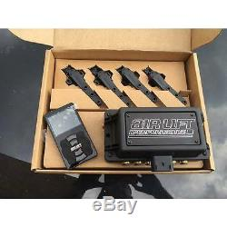 Air Lift 3H Digital Suspension Controller 3/8 FREE Billet Arms Bluetooth bag