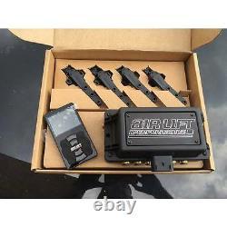 Air Lift 3H Digital WiFi FBSS Air Bag Suspension Kit 1/4 444C FREE Billet Arms