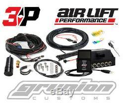 Air Lift 3P Digital Air Bag Suspension Pressure Control System 3/8 Low Riders
