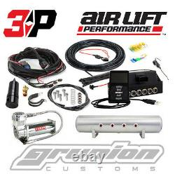 Air Lift 3P Digital Air Ride Suspension Kit with WiFi Control & 4 Gallon Tank