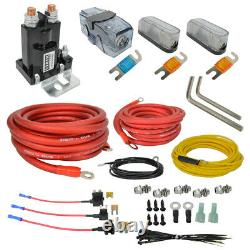 Air Ride Suspension Kit Complete Wireless Management Control 3 Presets Black 480
