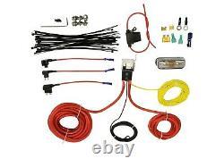 Air Tow Assist Kit Tank & Digital Gauge Control In Cab Fits 14-20 Dodge Ram 2500