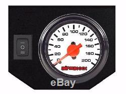 Air Tow Assist Kit White Gauge Management & Tank 2003-13 Dodge Ram 2500 & 3500