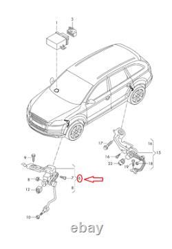 Audi Q7 4L Front Left Level Sensor With Poles 7L0616213D NEW GENUINE