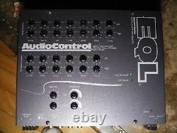 AudioControl EQL 2-Channel 13-Band Octave Equalizer Level Matching Controls