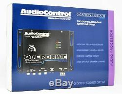 AudioControl Overdrive Plus, 2 Channel Line Driver with Optional Level Control