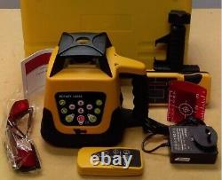 Automatic Rotary laser level 203N. Kit includes detector and remote control