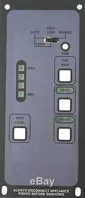 BOSCA SPIRIT/SOUL 4-LEVEL Brand New Pellet Stove Digital Control Replacement