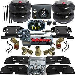 B Air Helper Spring Kit 2500/3500 RAM 2003-2013 Compressor e push button