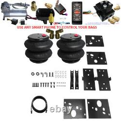 B Air Leveling Tow Kit 2500 RAM 2014-2019 No Drill with Bluetooth Controller