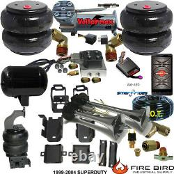 B ChassisTech Tow Kit F250 F350 1999-2004 Compressor Bluetooth Controller Horn