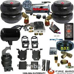 B ChassisTech Tow Kit Ford F250 F350 1999-2004 Compressor Bluetooth Controller