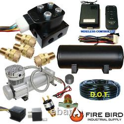 B ChassisTech Tow Kit Ford F250 F350 2005-2010 Compressor Wireless Controller