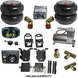 B ChassisTech Tow Kit Ford F250 F350 SD 1999-2004 100 Compressor and E Push