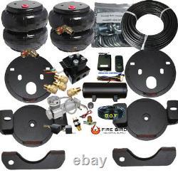 B Wireless Air Helper Spring Kit chevy gmc 25/35HD 2001-2010 Compressor