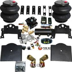 B Wireless Air Helper Spring Kit chevy gmc 25/35HD 2011-2016 Compressor