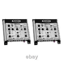 Boss BX45 2/3-Way Electronic Crossover Remote Subwoofer Level Control (2 Pack)