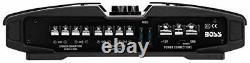 Boss PHANTOM 2200 Watts 4 Channel Power Amplifier Remote Subwoofer Level Control