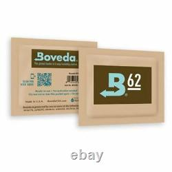 Boveda 62% Humidity Level Control Packs 8 gram 300 pcs Box USA