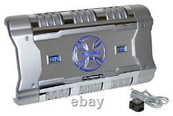 Brand X XFLSQ588X2 588W Bridgeable 2-Channel Mosfet Amplfier With Level Control