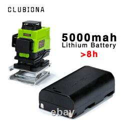 CLUBIONA 360° 4D 16 Lines German Green Laser Level Remote Control Self-Leveling