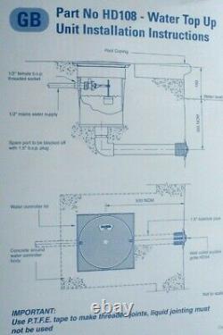 Certikin Automatic Water Level Controller Device Hd108