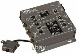 Clarion 3-Way Electronic Crossover with Remote Subwoofer Level Control MCD360