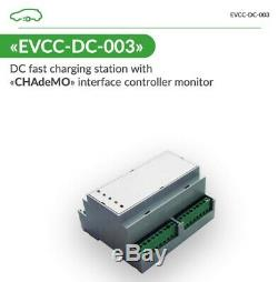 Controller NEW CHAdeMO EVSE 125A DC Level 3 with plug&charge AutoEnterprise