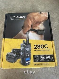 Dogtra 280C Precise Control 127-Level Training Dog E-Collar OPEN BOX