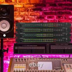 Dual 40 LED Stereo Sound Control Audio Level Meter Indicator Music Spectrum Lamp