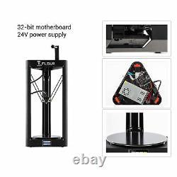 FLSUN QQ-S-Pro Delta 3D Printer 255360mm WiFi Remote Control Auto Level E0R7