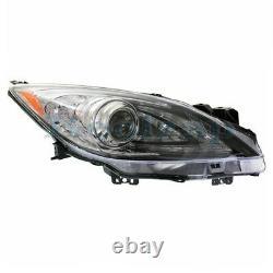 For 10-13 Mazda 3 Front Headlight Headlamp HID/Xenon Head Light Lamp Right Side