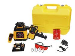Fukuda FRE 203 Rotary Laser Level Set Receiver, Remote Control & NiMH Battery