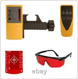 Fukuda FRE 301 Rotary Laser Level Set Receiver, Remote Control & NiMH Battery